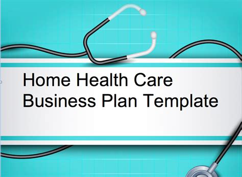 Home Health Care/Elderly Care Business Plan   Black Box