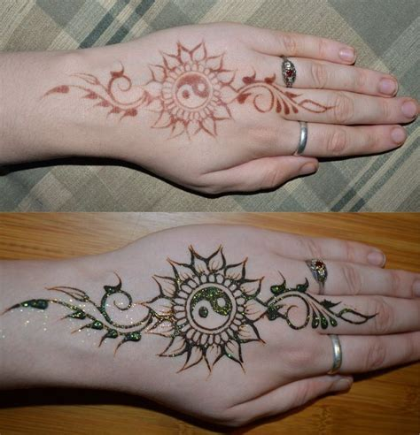 henna tattoo yin yang best 25 henna inspired tattoos ideas on henna