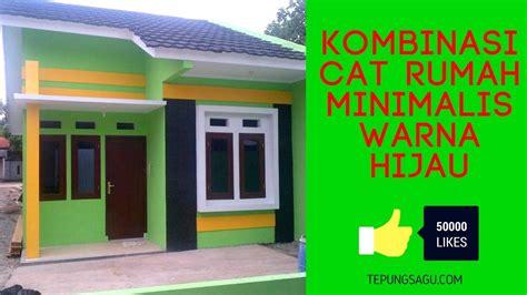 kombinasi cat luar rumah warna hijau terbaik