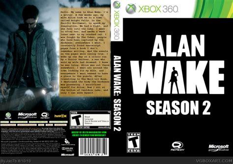 alan walker xbox 360 alan wake season 2 xbox 360 box art cover by jac7b