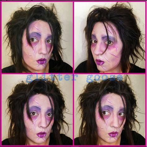 zombie cosplay costume glitter face design tattoo makeup 311 best images about glitter goose face painting