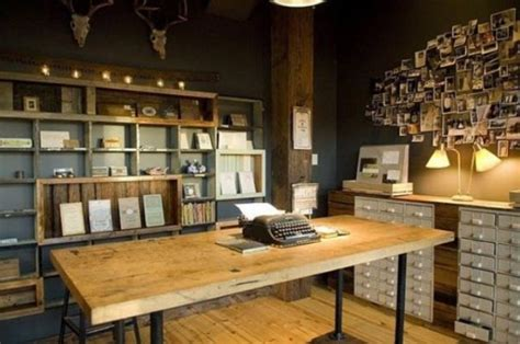 awesome home office 42 awesome rustic home office designs digsdigs