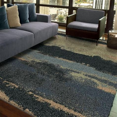 carlina gray sand area rug carolina weavers comfy and cozy grand comfort collection