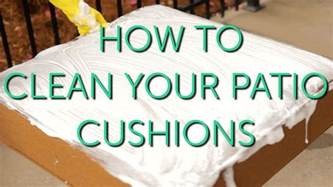 How Do You Clean Patio Cushions How To Clean Your Outdoor Cushions Patio Repair
