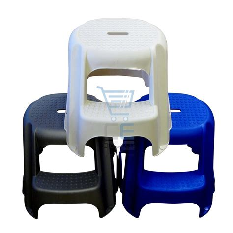 outdoor step stool plastic 2 step stool 4 colours anti slip platform large