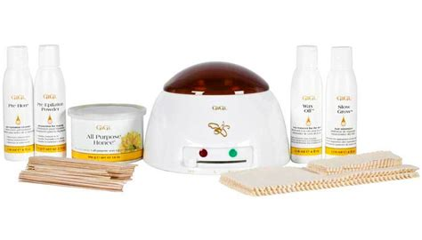 5 At Home Waxing Tips From The Pros by Gigi Student Starter Waxing Kit 0366 Pro Esthetician Wax