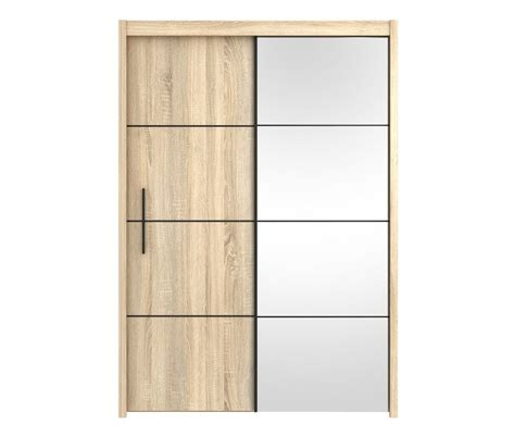 Sliding Door Oak Wardrobe by Santana Sliding 2 Door Oak Wardrobe