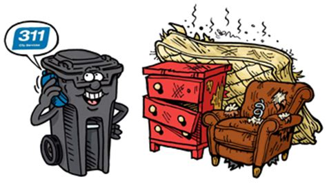 waste management couch pick up residential garbage collection service water and waste