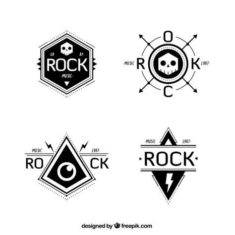 design free band logo rock band logo collection vector free download