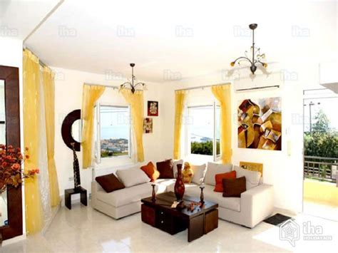 Living Room Rethymno Menu Villa For Rent In A Property In Rethymno Iha 8521