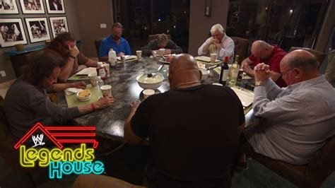 wwe legends house the legends have family dinner wwe legends house may 22