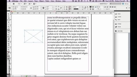 indesign online tutorial adobe indesign cs5 5 tutorial getting started part 1 youtube