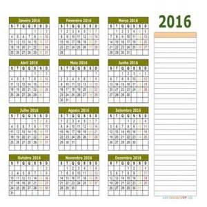 Calendario Html Calend 193 2016 Para Imprimir