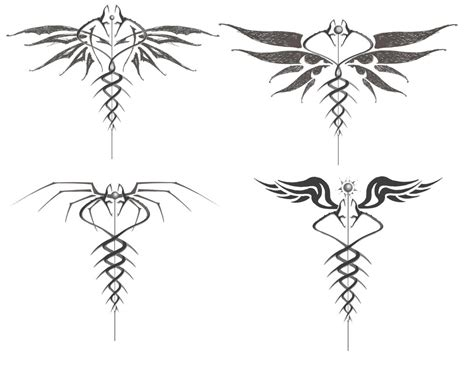 tribal caduceus tattoo caduceus 1 by wags on deviantart