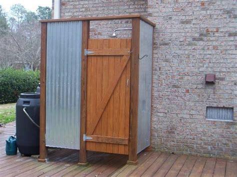 Wooden Shower Doors 13 Outdoor Shower Designs Ideas Design Trends Premium Psd Vector Downloads