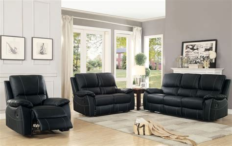 Office Furniture Greeley Co Greeley Black Reclining Living Room Set From