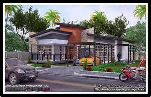 Bungalow House Design With Terrace Philippine Dream House Design Four Bedrooms Bungalow
