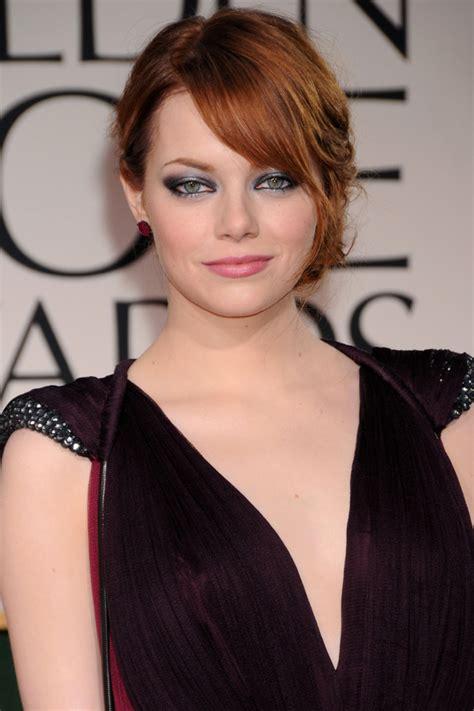 Hochzeitsfrisur Rote Haare by Die Frisuren Golden Globes 2012