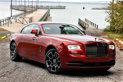 roll royce red 2017 rolls royce wraith black badge it s the business