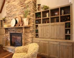 Rustic Built In Bookshelves Pin By Erin Duffy On For The Home