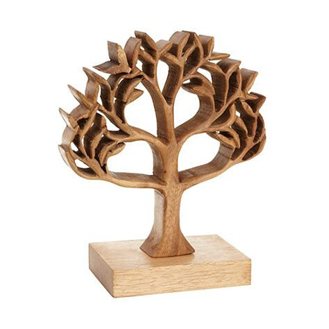 carved wooden ornaments debenhams wooden cutout carved tree ornament debenhams