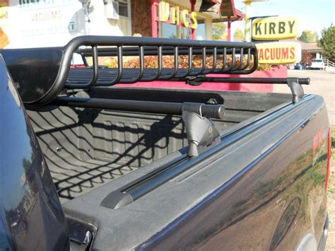 ford   bed rail rack  cargo basket install