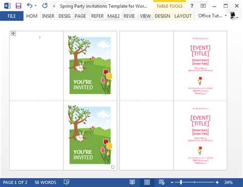 graduation invitation templates microsoft word dhavalthakur com