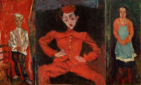 soutines portraits cooks waiters soutine s portraits cooks waiters bellboys mature times