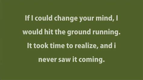 lyrics haim haim if i could change your mind lyrics