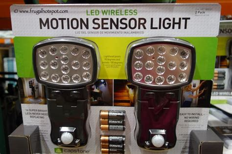 led wireless motion sensor light costco costco clearance capstone led wireless motion sensor