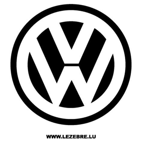 Volkswagen Logos by Autocollant Volkswagen Vw Logo