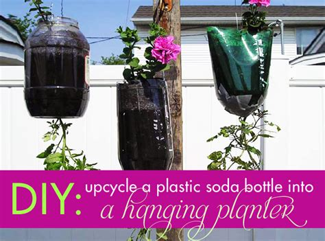 Diy Planters how to make a hanging planter with a recycled plastic