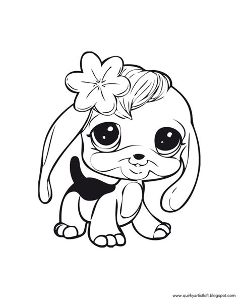 printable coloring pages littlest pet shop artist loft littlest pet shop free printable