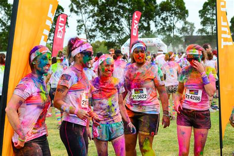 what is the color run our top 10 popular uk distance running events which one