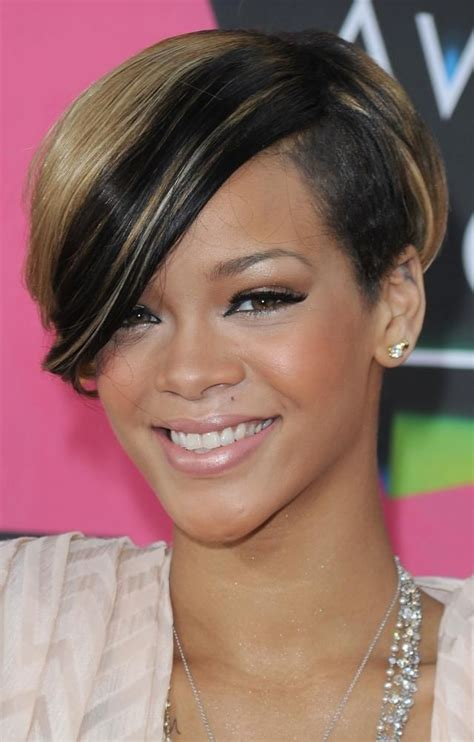 will rhianna pixie work with oblong faces 25 best ideas about black short haircuts on pinterest