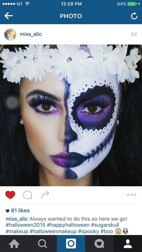 makeup dia dia de los muertos makeup