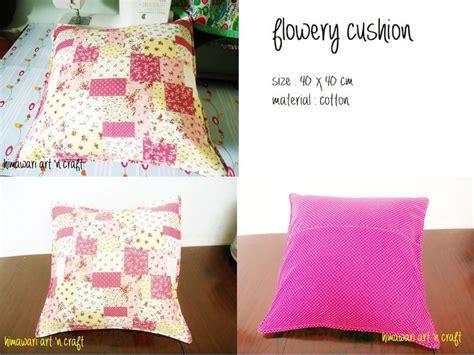 Sarung Bantal Sofa You Make My World So Colourfull 4 himawari n craft tutorial menjahit sarung bantal