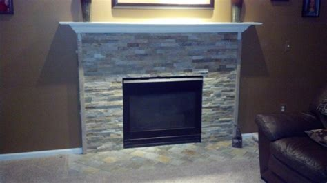 Fireplace Refacing by Olympia Ledgestone Fireplace Refacing Fireplace