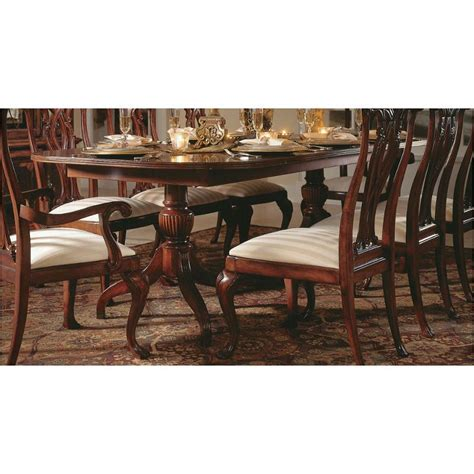 792 744 american drew furniture pedestal dining table