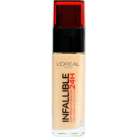 L Oreal Infallible Stay Fresh Foundation l oreal infallible stay fresh foundation golden beige 30ml