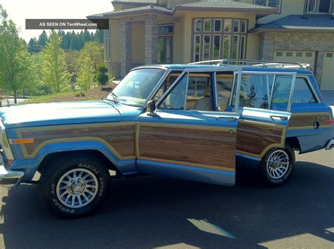 1991 Jeep Grand Wagoneer 1991 Jeep Grand Wagoneer 4x4 Last Year Of The Wagoneer