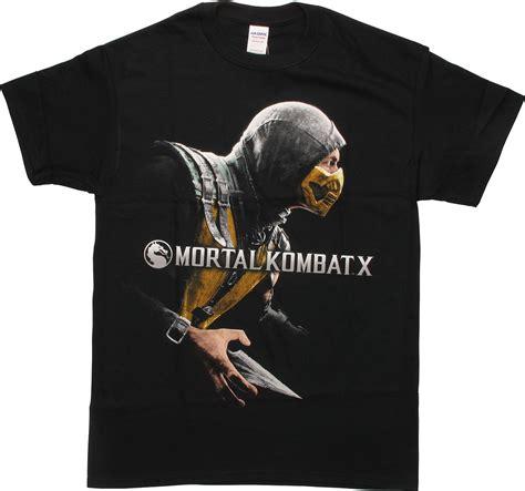 T Shirt Mortal Kombat Anime mortal kombat x scorpion cover t shirt