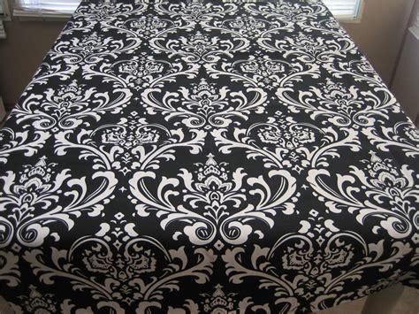 black white table cloth black white damask tablecloth ebay