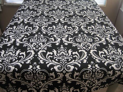 Damask Black Tablecloths Cheap ? Joanne Russo HomesJoanne