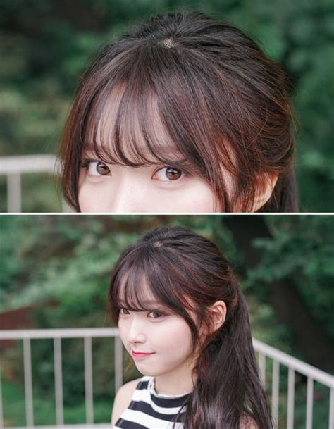 korean hairstyles for fine hair image result for bangs korean hairstyle inspiration