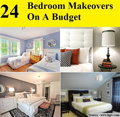bedroom makeover ideas on a budget 24 bedroom makeovers on a budget home and tips