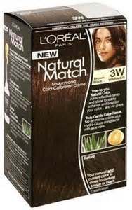 loreal color match l oreal match hair color 3w 3 w brown black by l oreal