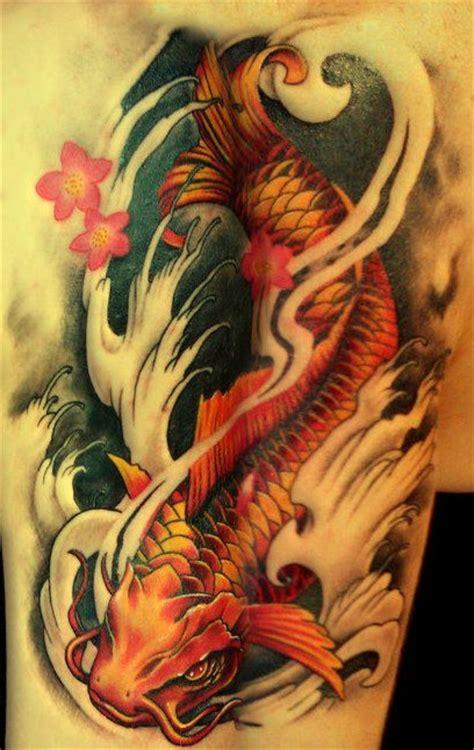 tattoo ryba koi znaczenie koi fish tattoo