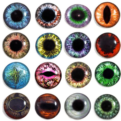 printable dragon eyes 25mm glass eyes for jewelry making pendants dolls by