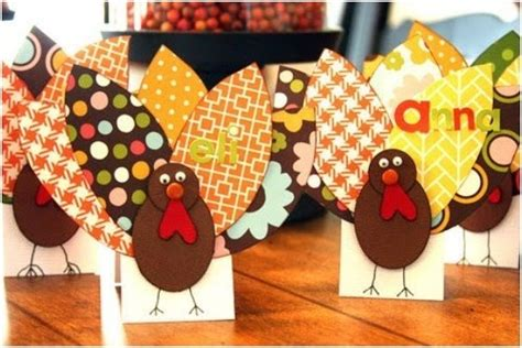Paper Turkey Decorating Ideas by 36 Thanksgiving Craft Ideas For